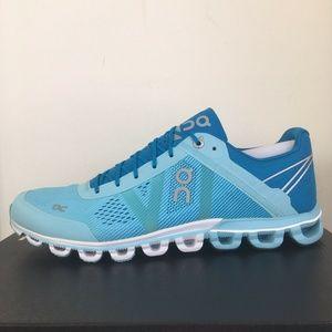 On Cloudflow Road Running Sneakers Blue Women's